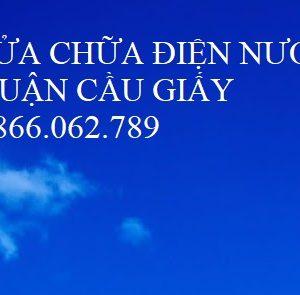 Lắp Đặt Điện Nước Cầu Giấy   Thợ Giỏi 0866.062.789