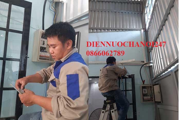 Sửa điện nước Trần Quốc Hoàn – Thợ điện nước tại đường Trần Quốc Hoàn