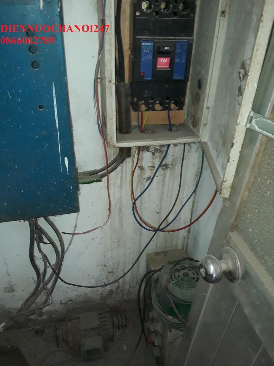 Sửa điện nước tại đường Láng